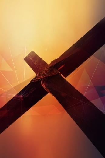 Cross Prisms Church Background
