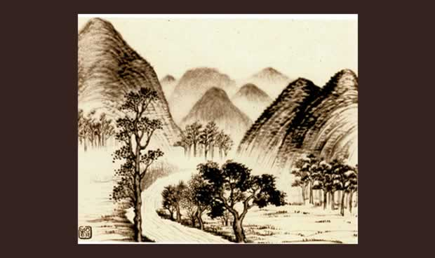 Chiang Yee Images of Lake District Scenes