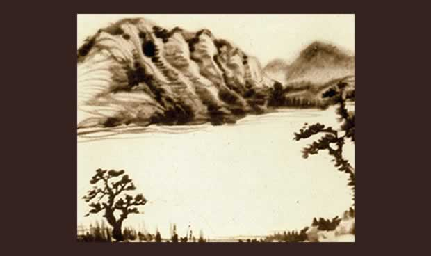 Chiang Yee image of Wastwater