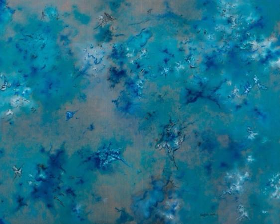 蔡锦, 风景93, 布面油画, 150x120cm, 2014_1